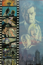 Verso de Batman: The Official Comic Adaptation Of The Warner Bros Motion Picture -OS- Batman movie 1989