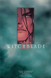 Verso de Witchblade - Collected Editions (The) (1996) -3- Volume Three
