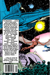 Verso de X-Men Spotlight on Starjammers (1990) -1- Phalkon quest part1