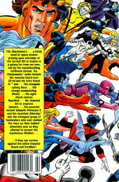 Verso de X-Men Spotlight on Starjammers (1990) -2- Phalkon quest part2