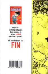 Verso de Détective Conan -9a- Tome 9