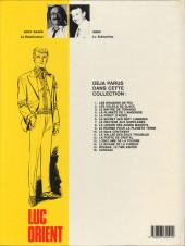 Verso de Luc Orient -7b1985- Le cratère aux sortilèges