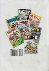 Verso de Capt'ain Swing! (1re série) -Rec099- Album n°99 (contient Super Swing n°52 - 53 - 54)