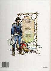 Verso de Blueberry -8c1990- L'homme au poing d'acier