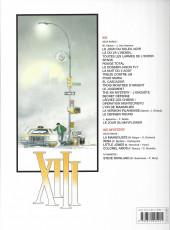 Verso de XIII -16a2012- Opération Montecristo