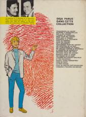 Verso de Ric Hochet -23a1978- La ligne de mort