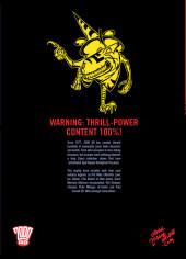 Verso de 2000AD presents Sci-fi Thrillers