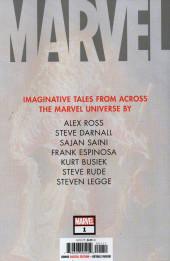 Verso de Marvel (2020) -1- Marvel (2020) #1