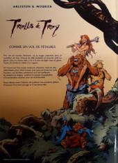 Verso de Trolls de Troy -3a2002- Comme un vol de Pétaures