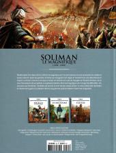 Verso de Les grands Personnages de l'Histoire en bandes dessinées -35- Soliman le Magnifique