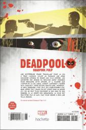 Verso de Deadpool - La collection qui tue (Hachette) -2645- Deadpool Pulp