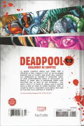 Verso de Deadpool - La collection qui tue (Hachette) -279- Règlement de comptes