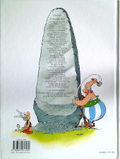 Verso de Astérix -32c2019- Astérix et la rentrée gauloise