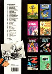 Verso de Spirou et Fantasio -38a1989- La jeunesse de Spirou