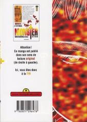 Verso de Monster (Urasawa) -16- Je t'attendais