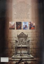 Verso de Le trône d'Argile -1a2009- Le chevalier à la hache