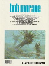 Verso de Bob Morane 3 (Lombard) -26a1986- L'empreinte du crapaud