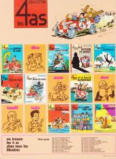 Verso de Les 4 as -18a1984- Les 4 as et la licorne