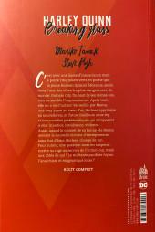Verso de Harley Quinn - Breaking Glass - Harley Quinn : Breaking Glass
