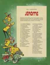 Verso de Jérôme -50- Les menhirs dansants