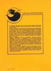 Verso de Le vagabond des Limbes (16/22) -2103- L'empire des soleils noirs