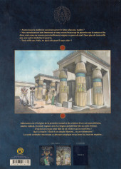 Verso de Les deux Cœurs de l'Égypte -2TL- le petit dieu