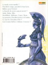 Verso de Saint Seiya Épisode G -1- Tome 1