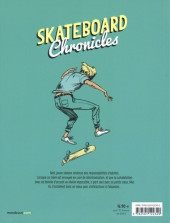 Verso de Skateboard Chronicles