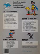 Verso de Les schtroumpfs -2b1984- Le Schtroumpfissime (et schtroumpfonie en ut)