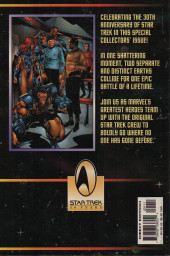 Verso de Star Trek/X-Men (1996) -1- Star TreX
