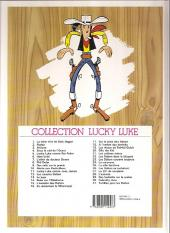 Verso de Lucky Luke -18d99- À l'ombre des derricks