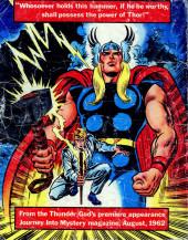 Verso de Marvel Treasury Edition (Marvel Comics - 1974) -3- Issue # 3