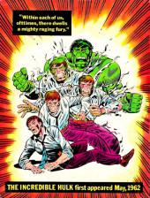 Verso de Marvel Treasury Edition (Marvel Comics - 1974) -5- Issue # 5