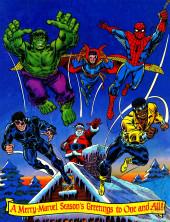Verso de Marvel Treasury Edition (Marvel Comics - 1974) -8- Giant Superhero Holiday Grab Bag