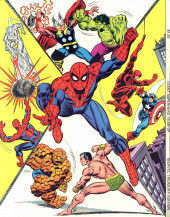 Verso de Marvel Treasury Edition (Marvel Comics - 1974) -9- Giant Superhero Team-Up