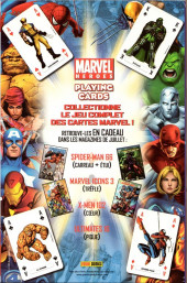 Verso de Spider-Man (Marvel France 2e série - 2000) -66Col- Un garçon en or