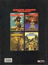 Verso de Bruce Jones présente -5- Gladiateurs mécaniques