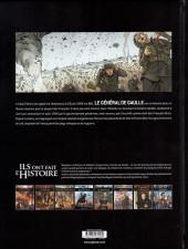 Verso de Ils ont fait l'Histoire -34- De Gaulle - Tome 2/3