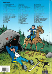 Verso de Les tuniques Bleues -1e2012- Un chariot dans l'Ouest