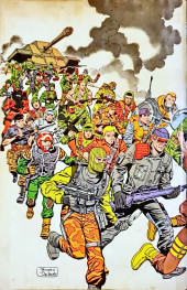 Verso de G.I. Joe: A Real American Hero (1982) -HS- Order of Battle