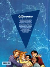 Verso de Les omniscients -1- Phénomènes