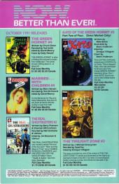 Verso de Kato of the Green Hornet (NOW Comics - 1991) -1- Issue # 1