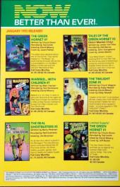 Verso de Kato of the Green Hornet (NOW Comics - 1991) -4- Issue # 4