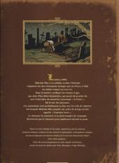 Verso de Malcolm Max -1- Les pilleurs de sépultures