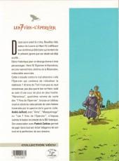 Verso de Les 7 Vies de l'Épervier -4d2001- Hyronimus