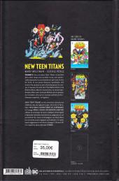 Verso de The new Teen Titans -3- Volume 3