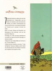 Verso de Les 7 Vies de l'Épervier -3d2001- L'arbre de mai