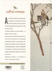 Verso de Les 7 Vies de l'Épervier -1d1997- La blanche morte