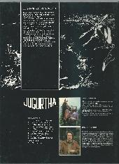 Verso de Jugurtha -9- Le Grand Zèbre sorcier