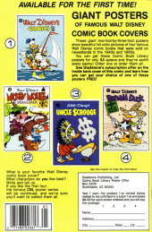 Verso de Uncle $crooge (3) (Gladstone - 1986) -213- Issue # 213